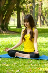 Meditation is a good stress busting activity