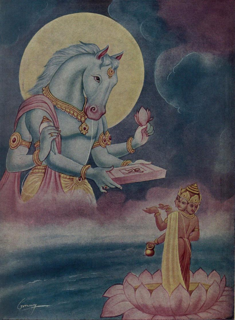 Hayagriva_restoring_Vedas_to_Brahma_which_were_taken_to_Rasatala.jpg