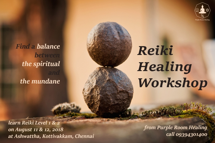 Reiki Workshop - Ashwattha, Chennai Final