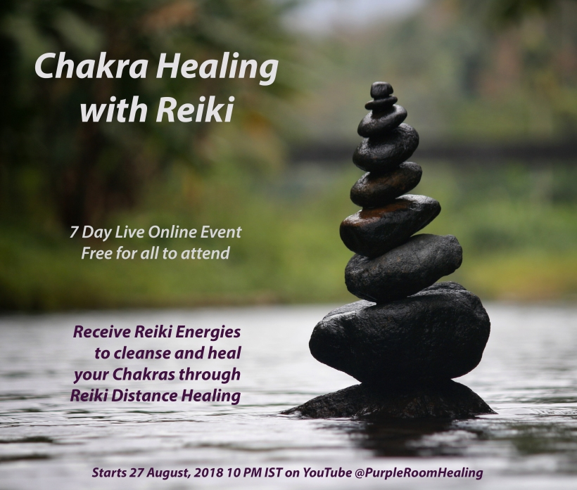 chakra healing live 7 day event