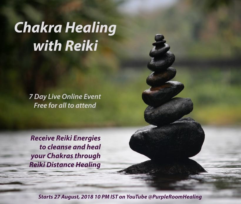 chakra healing live 7 day event